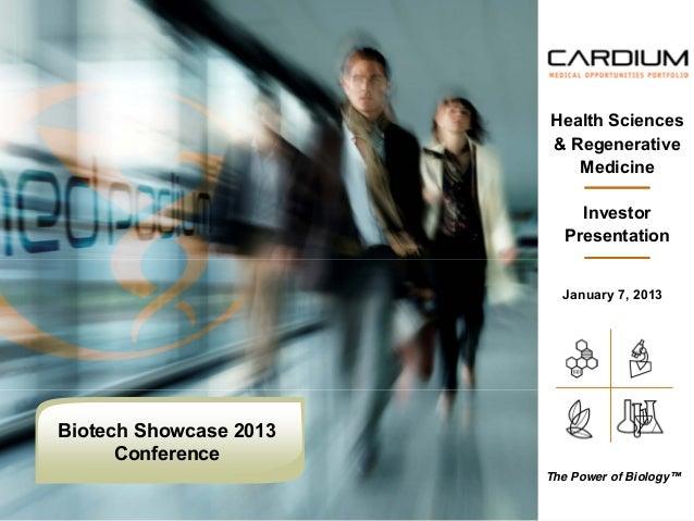 Health Sciences                        & Regenerative                           Medicine                            Invest...