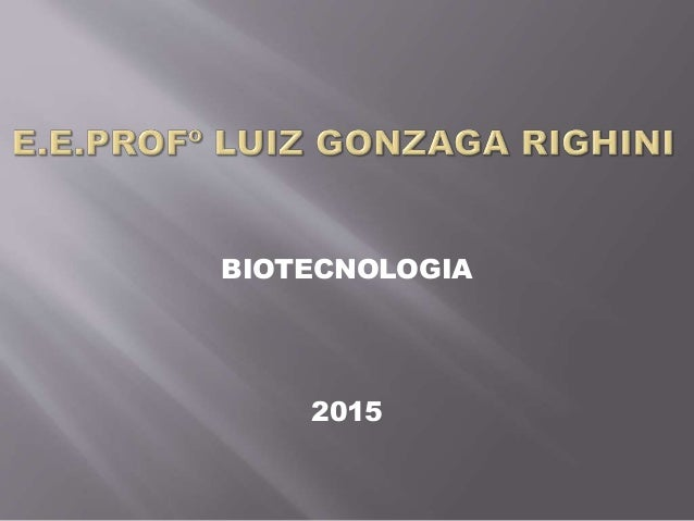 BIOTECNOLOGIA 2015