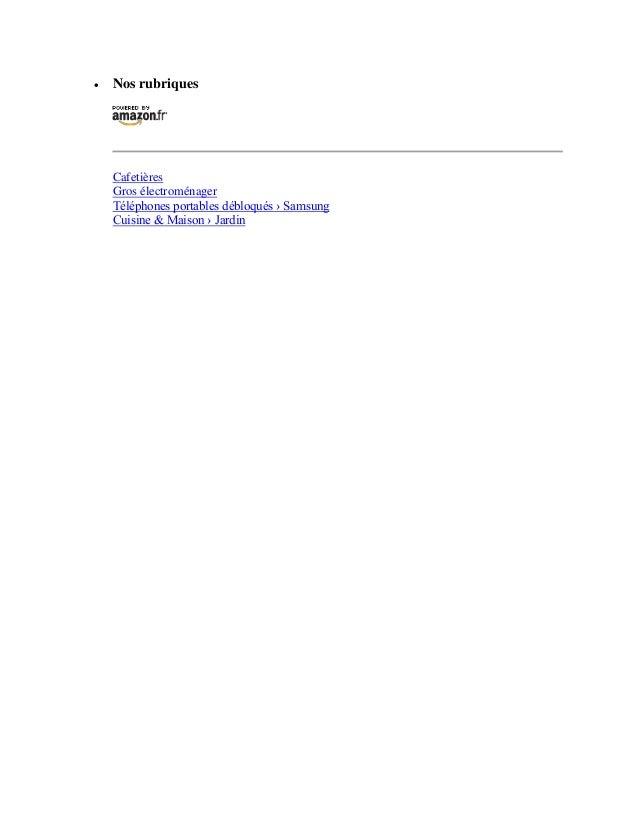  Nos rubriquesCafetièresGros électroménagerTéléphones portables débloqués › SamsungCuisine & Maison › Jardin