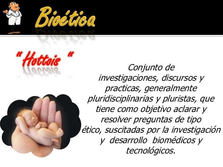 Bioética 1 t. Slide 3