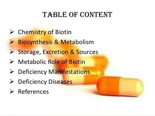 Biotin ( vitamin B7) Egg white injury, Leiner's disease Slide 2