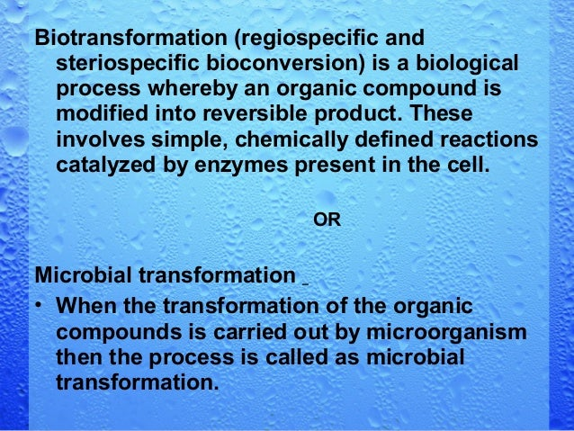 microbial transformation of steroids Microbial transformations of steroids: a handbook aims to provide those who  wish to use microbial transformations of steroids with a single source book  starting.