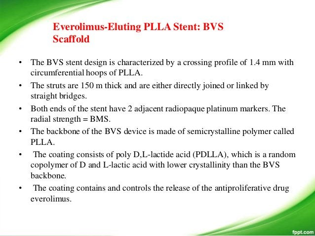 • Bioresorption Process of PLLA • In the PLA family of polymers, molecular-weight degradation occurs in vivo predominantly...