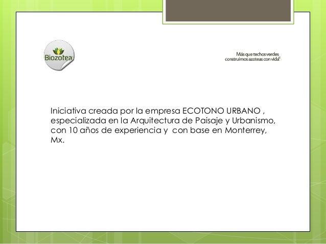Biozotea Slide 2