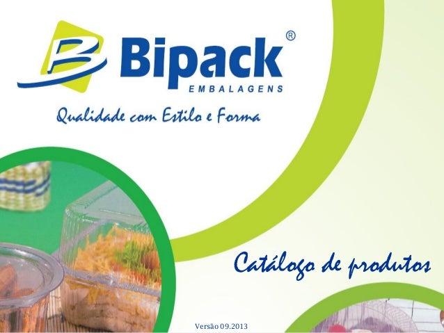 Catálogo de produtos Versão 09.2013