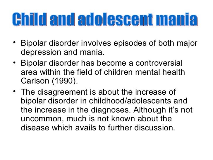 Research papers about bipolar disorder