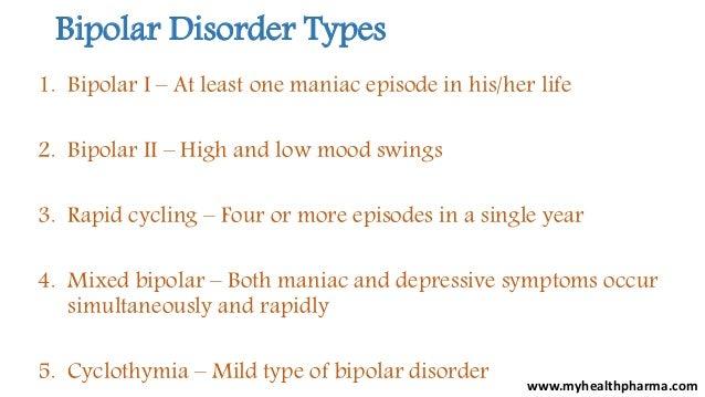 Bipolar Disorder Types ...