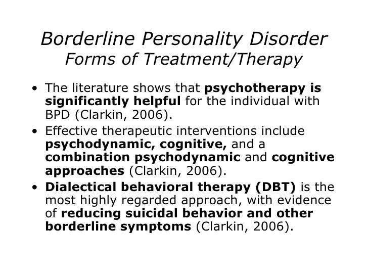 borderline personality disorder a literature review Literature review the association between borderline personality disorder and somatoform disorders: a systematic review and meta-analysis karen b schmaling | jessica.