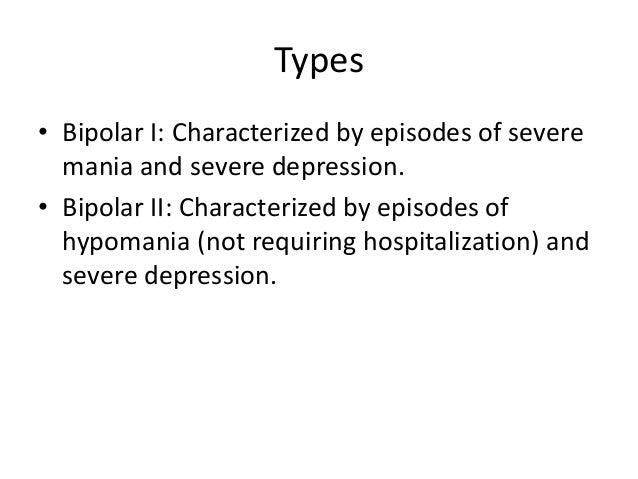 Bipolar disorder Slide 3