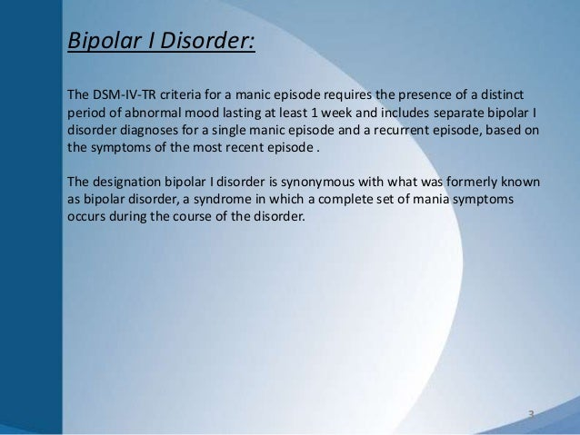 an introduction to the bipolar disorder the mood disorder characterized by elevated mood and disrupt But this is different from having a mood disorder such as major depressive disorder or bipolar disorder mood disorders are what are mood disorders mood a depressive episode is not necessary but commonly present for the diagnosis of bd i bipolar ii disorder is characterized.