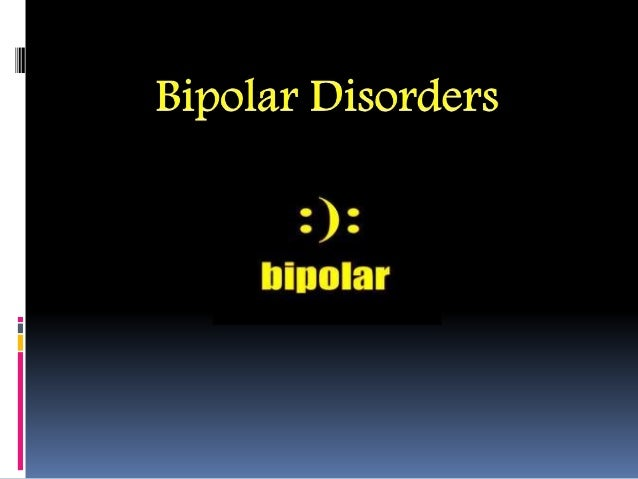 What do you mean by bipolar disorder? Bipolar disorder (also known as manic depression) causes serious shifts in mood, ene...