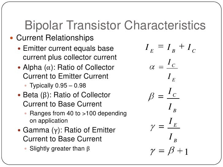 relationship between collector current and base in transistor