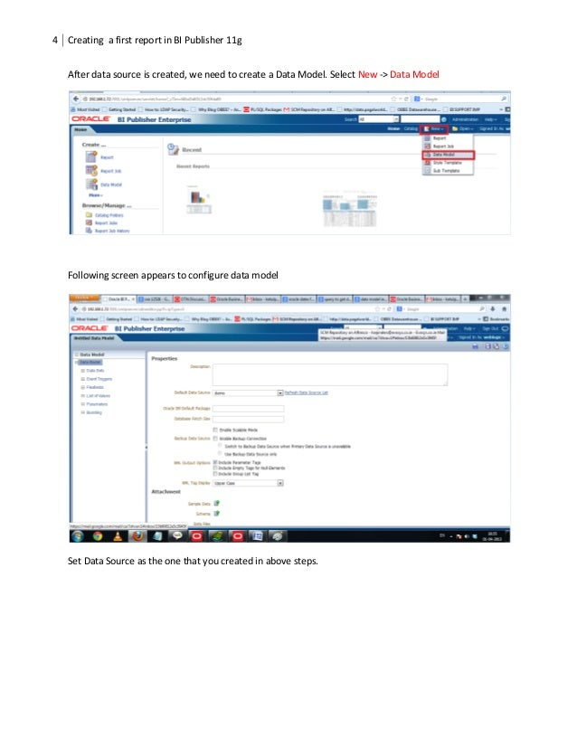 bi publisher starter guide to develop first report rh slideshare net Oracle Reports Developer Oracle Reports SRW Package