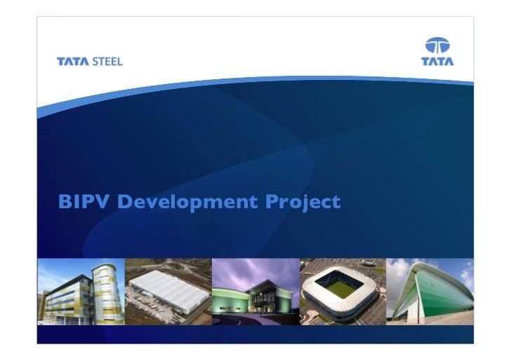 BIPV Development Project!