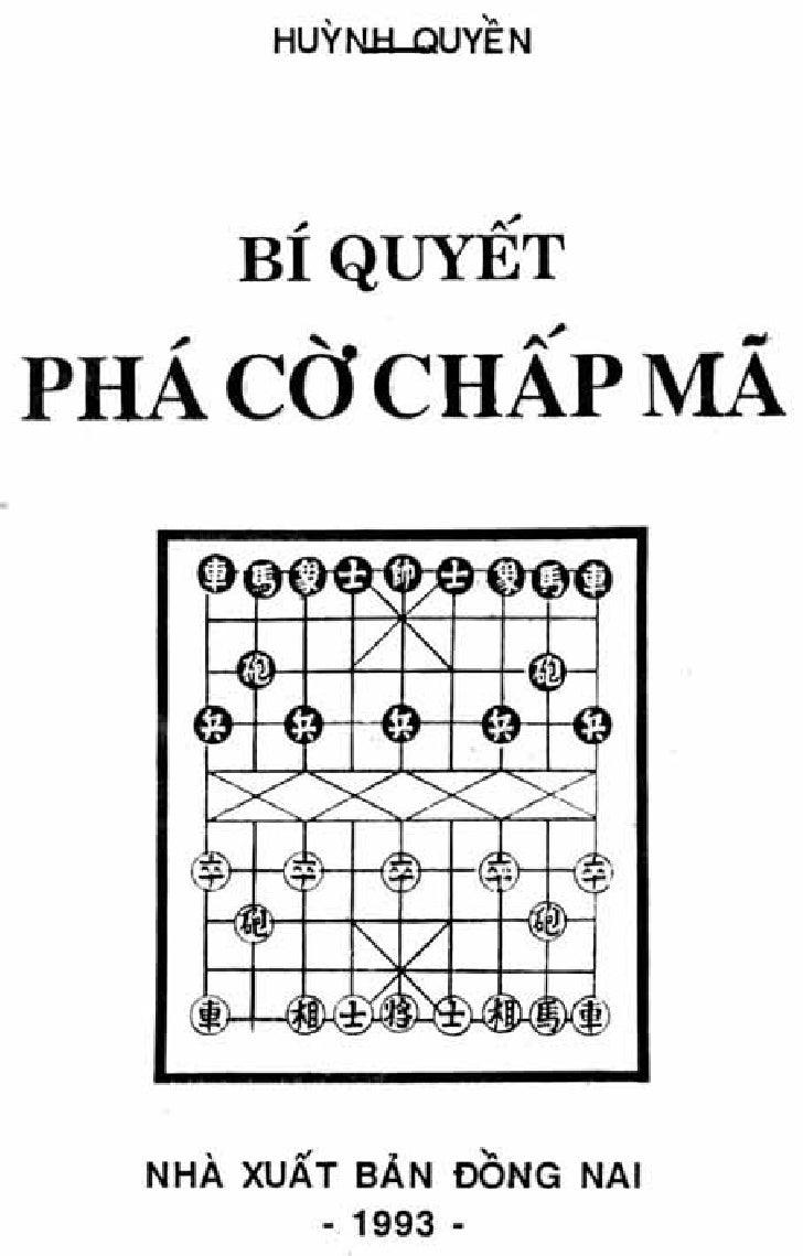 bí quyết phá cờ chấp mã (china chess)