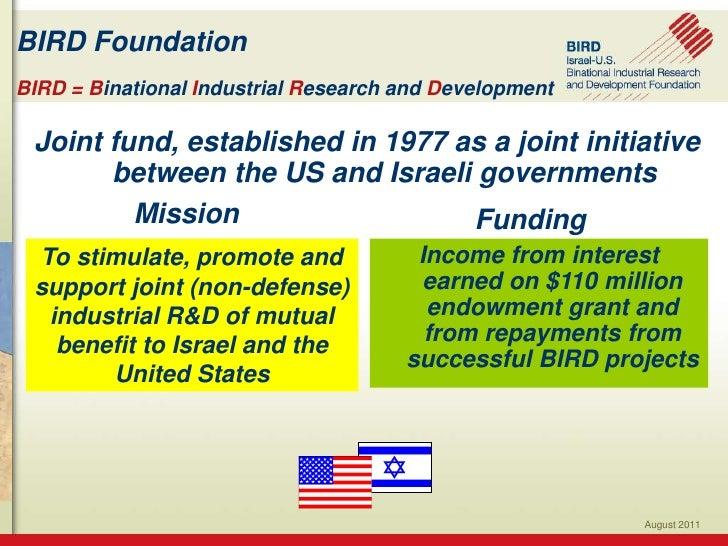 BIRD presentation for jerusalem institute oct 30 2011 1 Slide 2