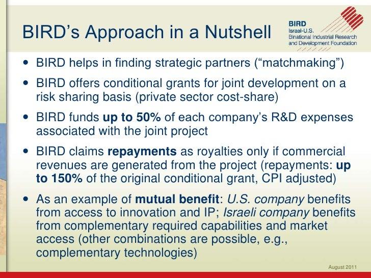 BIRD presentation for jerusalem institute oct 30 2011 1 Slide 3