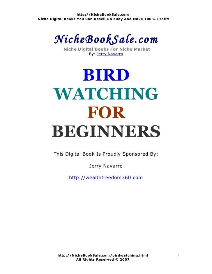 http://NicheBookSale.com Niche Digital Books You Can Resell On eBay And Make 100% Profit!            NicheBookSale.com    ...
