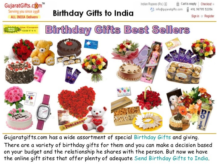 Birthday Gifts To India Online Gift Hampers Send