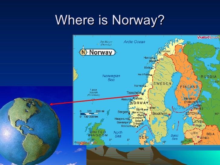 Birkebeiner - Where is norway