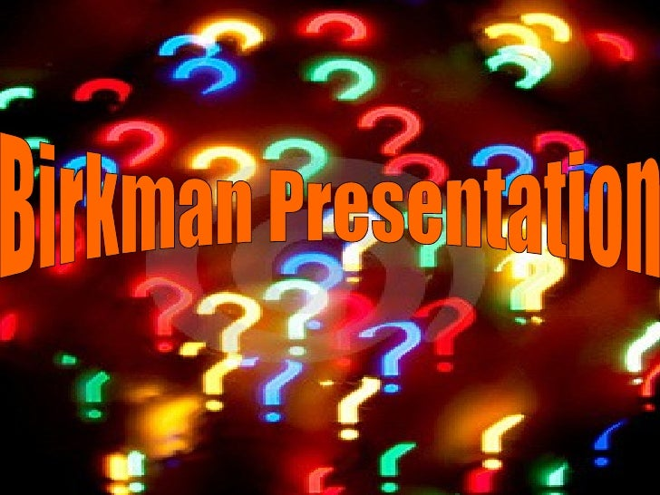 Birkman Presentation