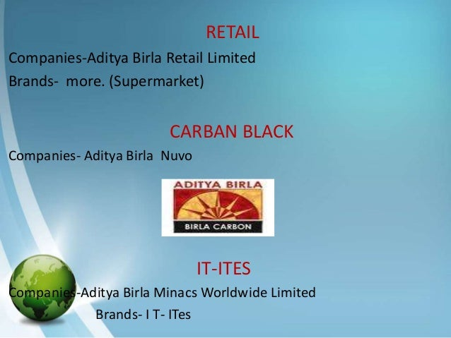 aditya birla retail project report