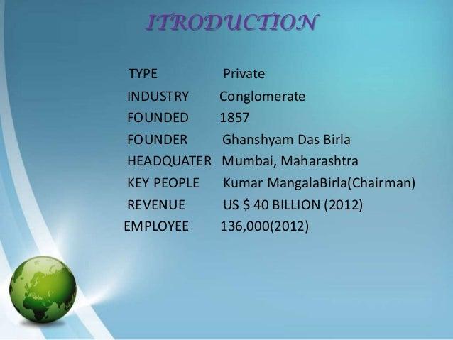 Aditya Birla group Slide 2