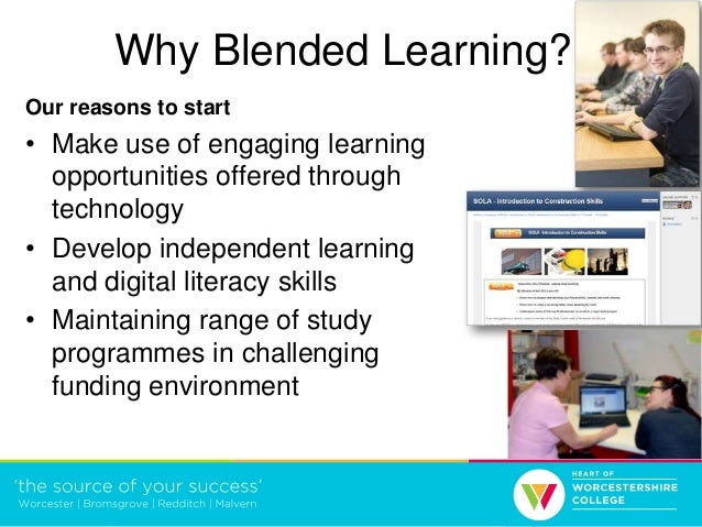 Blended learning - a whole college approach Slide 2