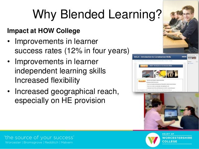 Blended learning - a whole college approach Slide 3