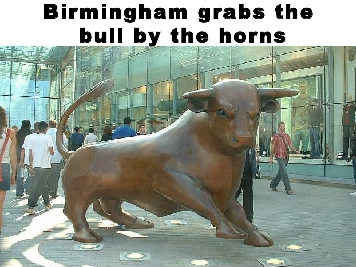 Birmingham grabs the  bull by the horns