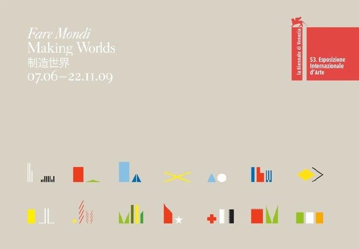 Venice Sessions 3 -Daniel Birnbaum - Fare Mondi Making Worlds