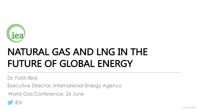 © OECD/IEA 2018 NATURAL GAS AND LNG IN THE FUTURE OF GLOBAL ENERGY Dr. Fatih Birol Executive Director, International Energ...