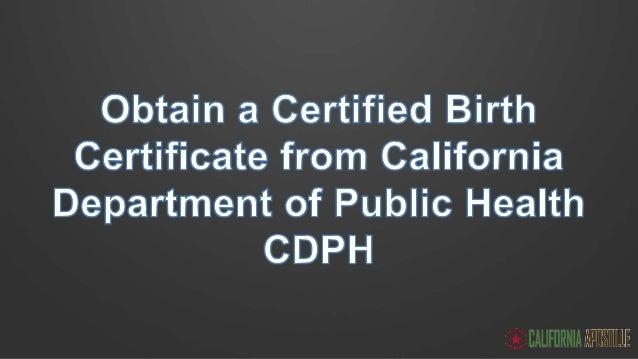 Cdph Birth Certificate - Best Design Sertificate 2017