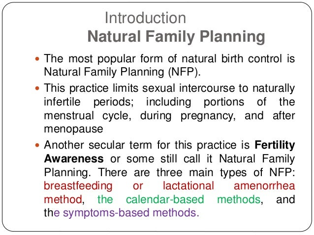 Natural Birth Control 3