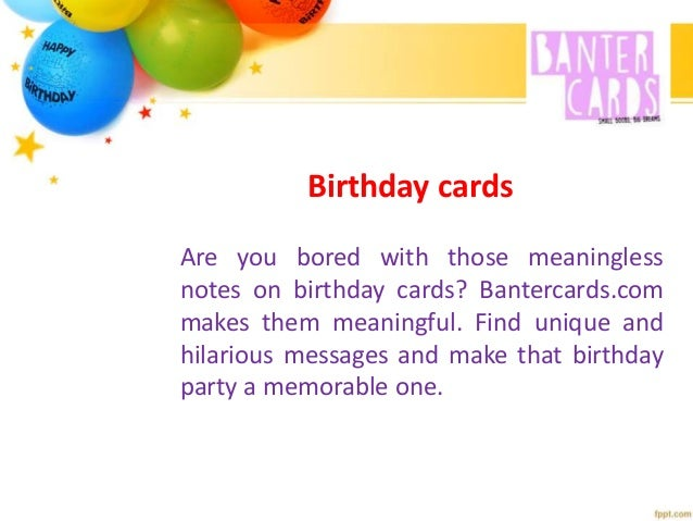 Birthday Balloons With True Feelings And Not Useless Messages Find M