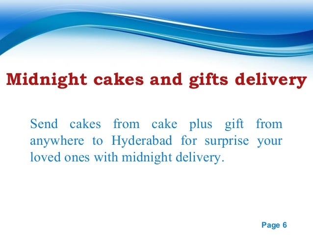 Birthday Cake And Gift Delivery In Hyderabad