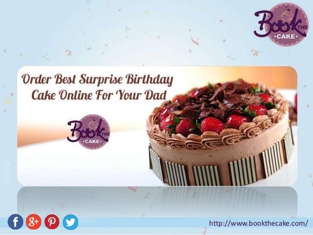 Terrific Order Best Surprise Birthday Cake Online For Your Dad Birthday Cards Printable Nowaargucafe Filternl