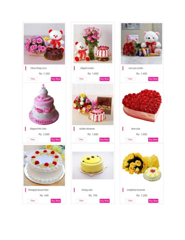 Online Birthday Cakes Delivery In Delhi