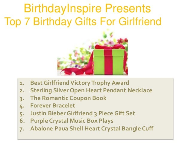Top 7 birthday gift recommendations for girlfriend must read best girlfriendvictorytrophy negle Image collections