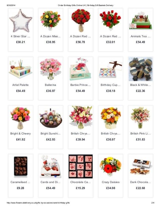 2 8 30 2014 Order Birthday Gifts Online UK