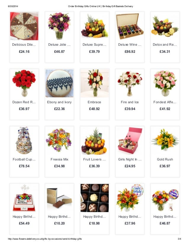 3 8 30 2014 Order Birthday Gifts Online UK