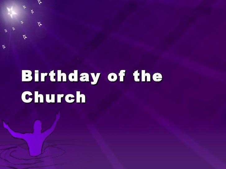 Birthday of the Church