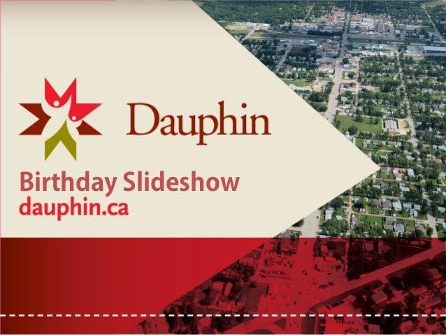 Birthday Slideshow