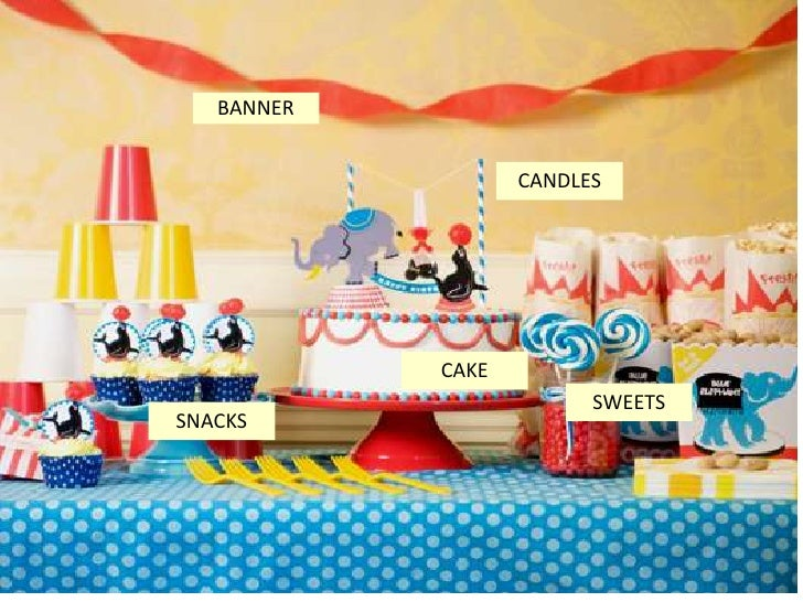 BANNER                   CANDLES            CAKE                         SWEETSSNACKS