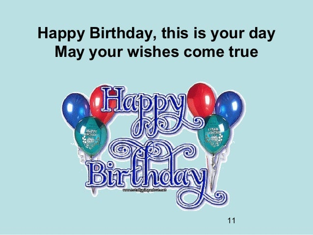 share your birthday wishes - photo #24