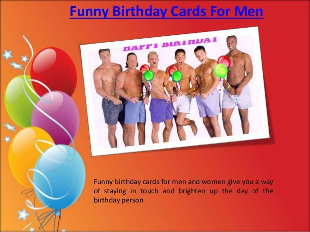 2 Funny Birthday Cards For Men