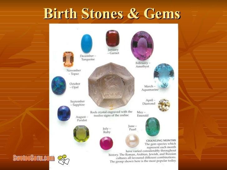 Birth Stones & Gems  SwetooSonu.com