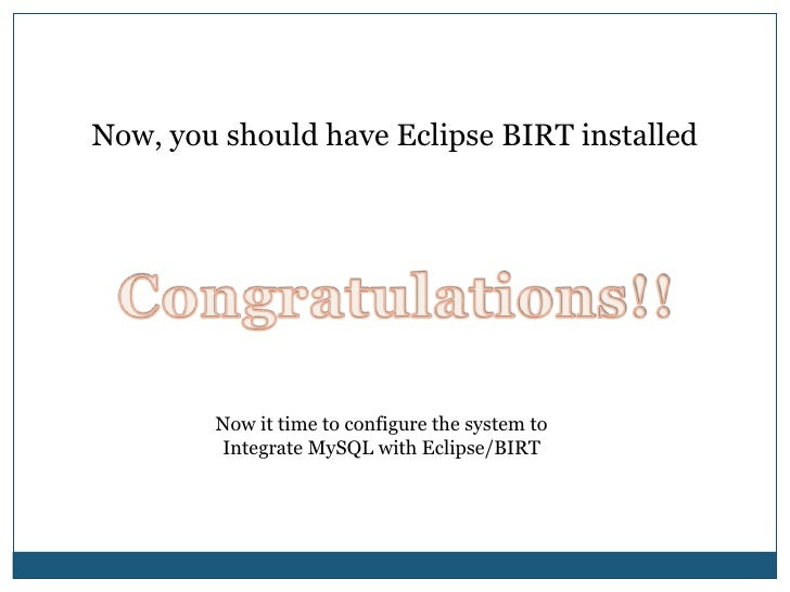 Select the download        to download BIRT.<br />Size: approximately 220MB<br />