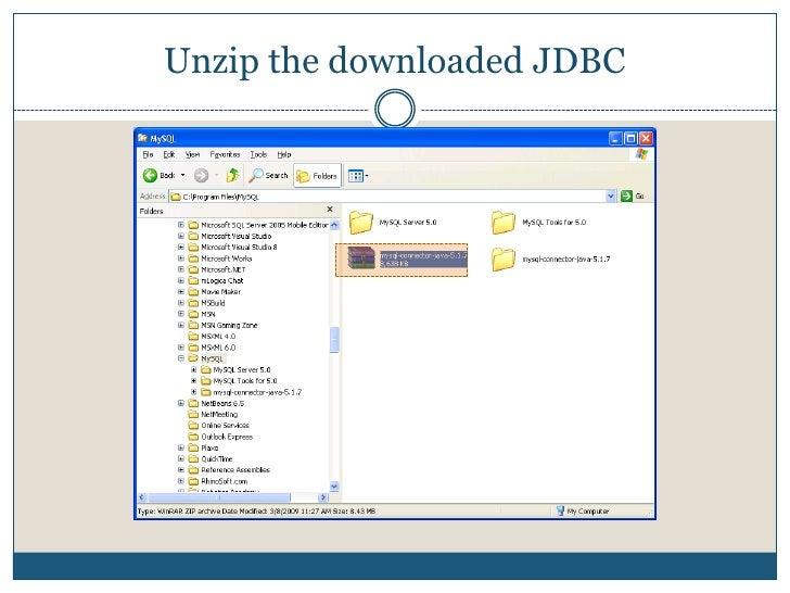 Download Java Connect<br />Select save option<br />