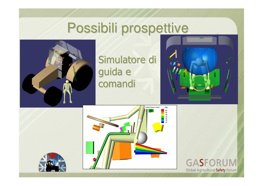 Carlo Bisaglia - Tecnologie assistive per la meccanizzazione agricola